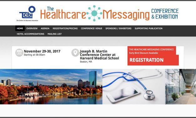 Healthcare Messaging Conference – Special Limited Time Pricing